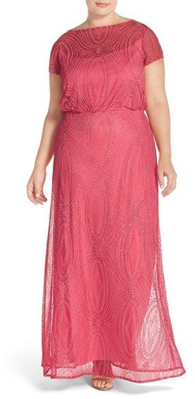 da21b4c97d2c8 BRIANNA Plus Size Women s Brianna Embellished Illusion Gown