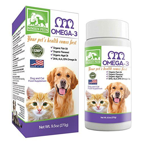 Organic Omega 3 Dogs Dog Amp Cats Galore Oils For Dogs