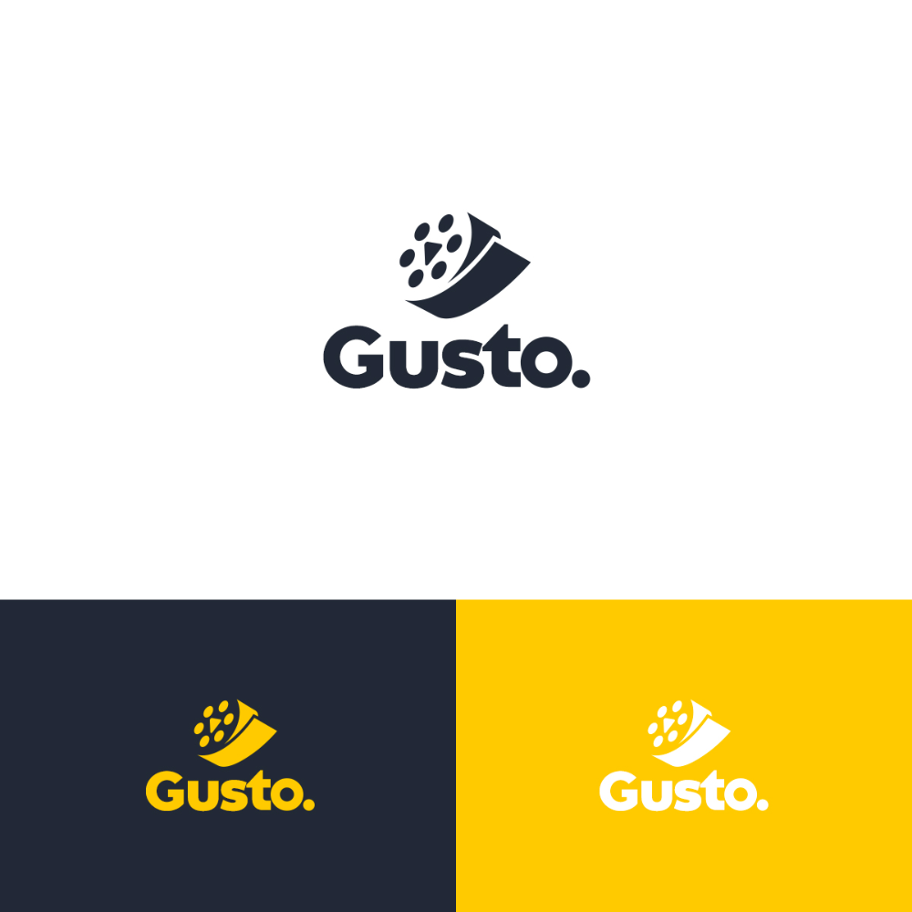Video Production Logo Design for Gusto