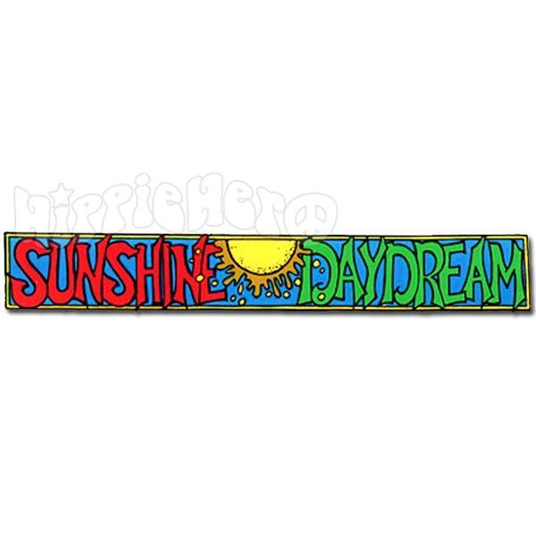Grateful Dead Sunshine Daydream Two-Sided Window Sticker