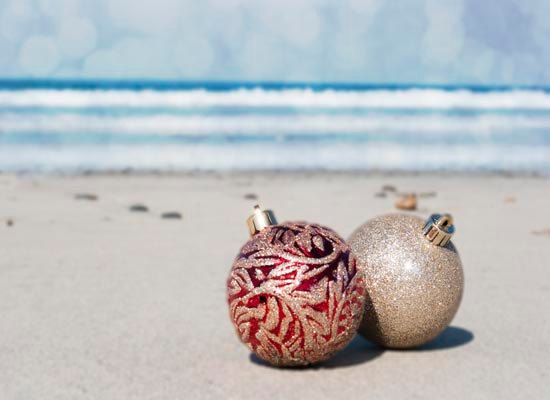 Christmas at the beach is always fun Most of the time you can
