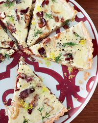 Food & Wine: Bacon, Cheddar and Onion Quiche