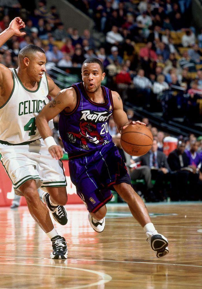 Damon Stoudamire Toronto Raptors David Wesley Boston Celtics