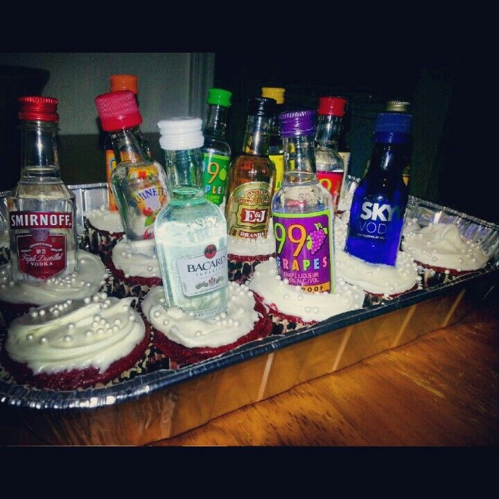 One of my best friends st birthday cupcakes  baskets also lesley nguyen on pinterest rh