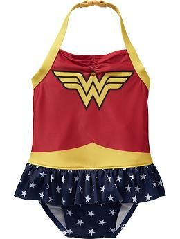 b6f938495 DC Comics™ Wonder Woman Swimsuits for Baby | Old Navy - Faye needs this.