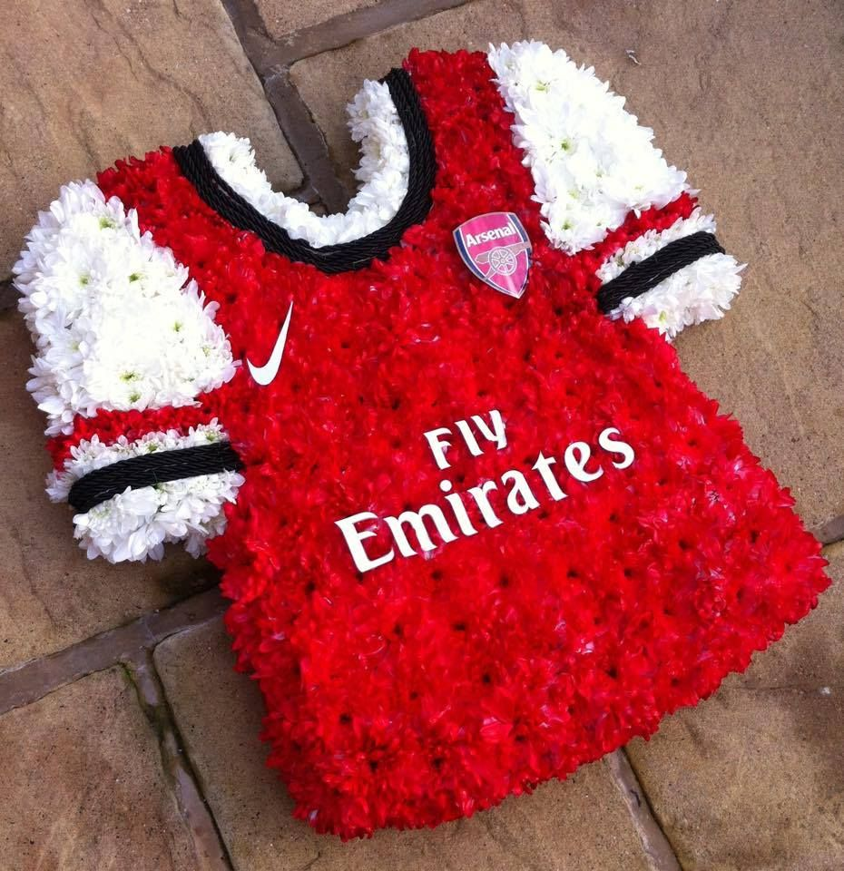 Football shirt by springfield florist flowers novelty football shirt by springfield florist izmirmasajfo Images