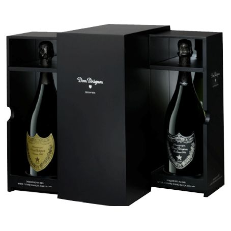 Dom Perignon Limited side by side 1996 giftbox