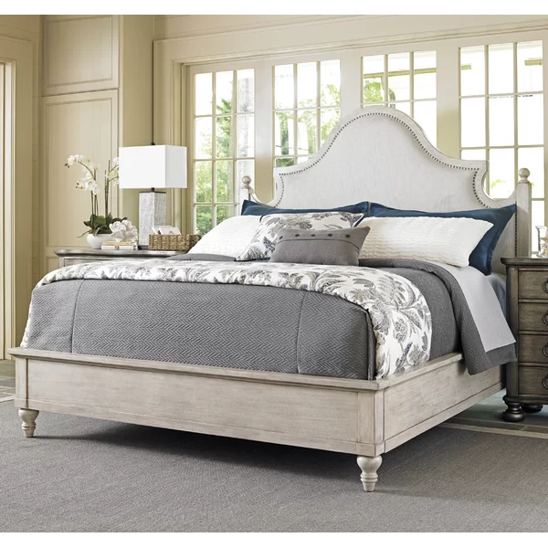 Oyster Bay Upholstered Standard Bed Bed Sizes Upholstered Beds Lexington Home