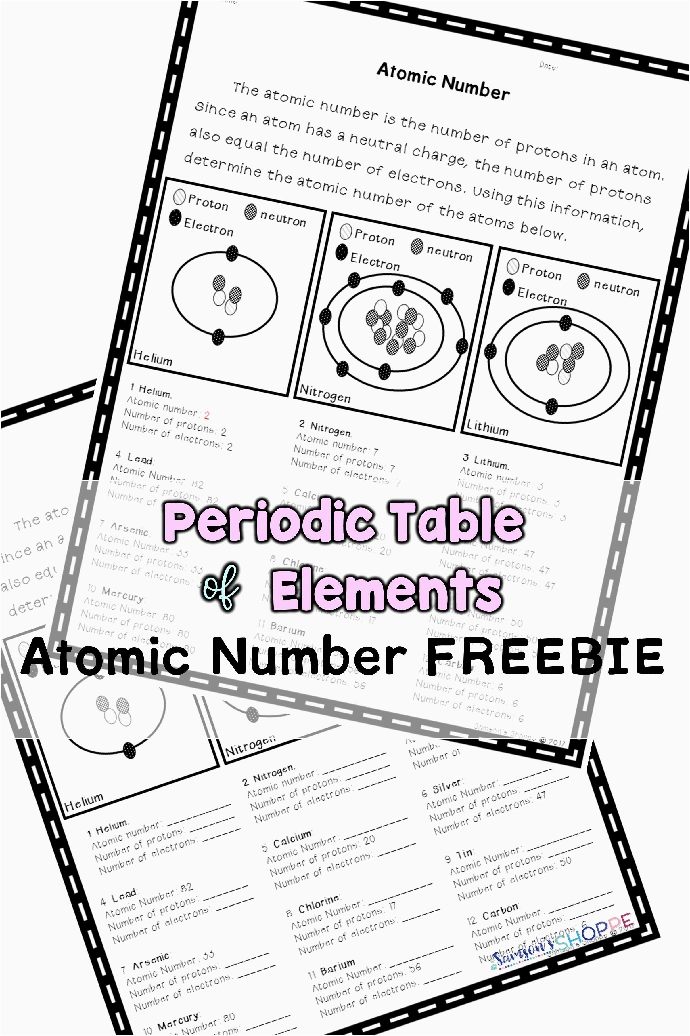 You Can Download Inspirational Periodic Table Trends Activity Pdf At Here Https Zavalen Info 2018 06 24 Per Number Worksheets Review Activities Atomic Number