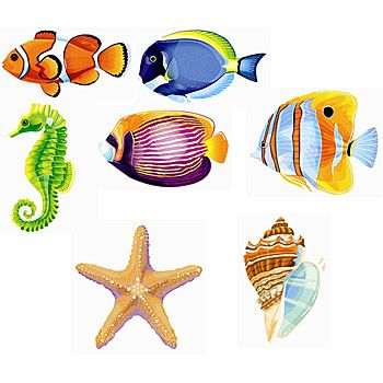 Youll get three sea life felt cut outs to decorate your nautical youll get three sea life felt cut outs to decorate your nautical party publicscrutiny Gallery