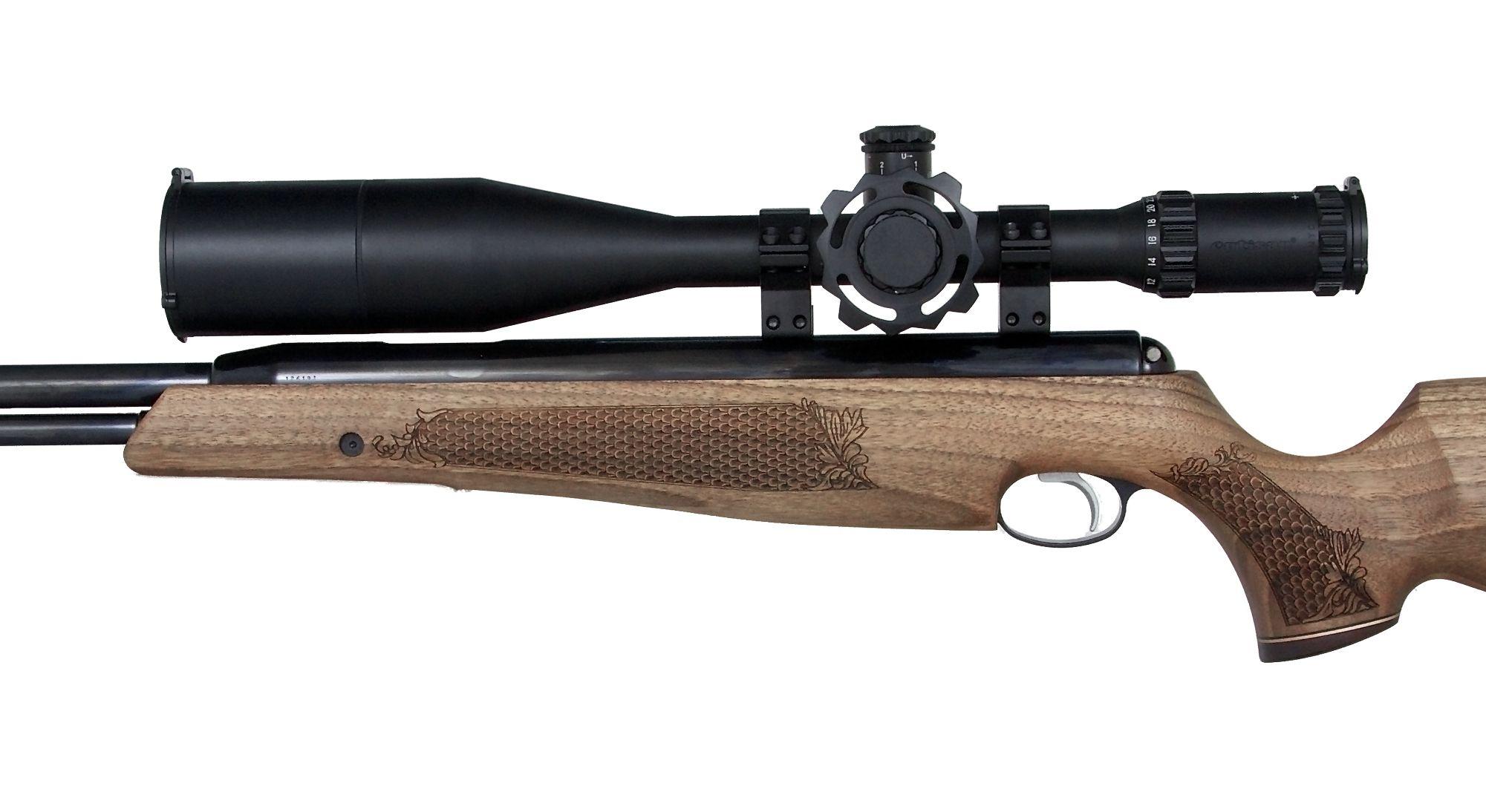 A famous Air Arms TX200 wearing an Optisan Viper 3-12x44