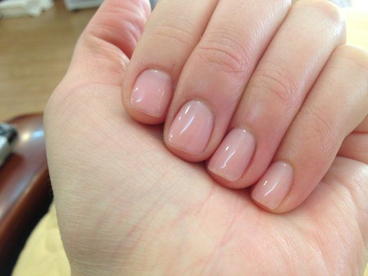 Nails Should Be Clean Trimmed So They Do Not Disturb The Client