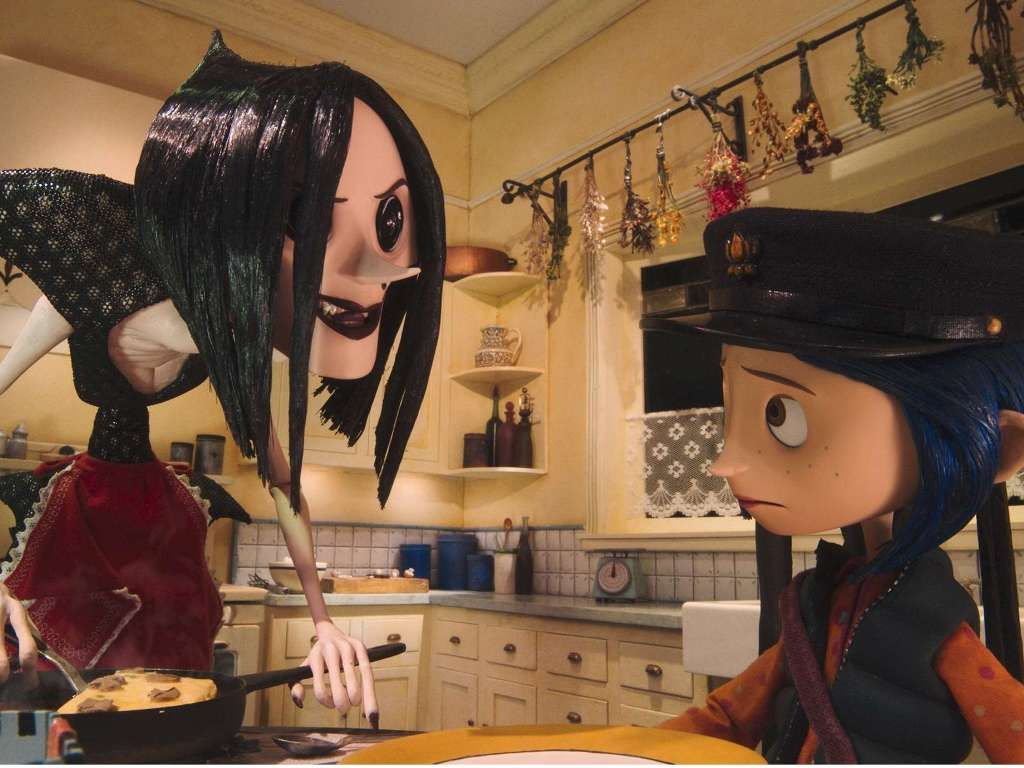 """""""Are you hungry?"""". Coraline and the secret door. Henry"""