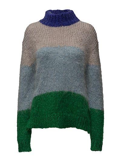 Knitted sweater strikkegenser