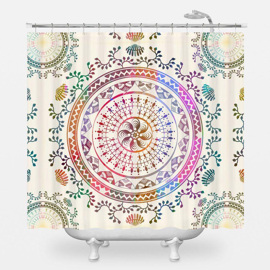 Mandala Shower Curtain Tapestry Mandala Tapestry Wall Tapestry