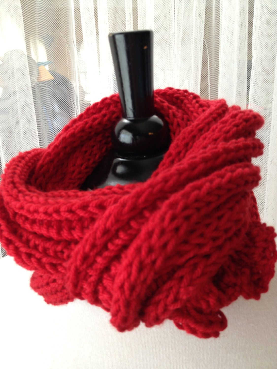 Amy Pond Inspired XL Dr. Who Red Scarf   Geek   Pinterest