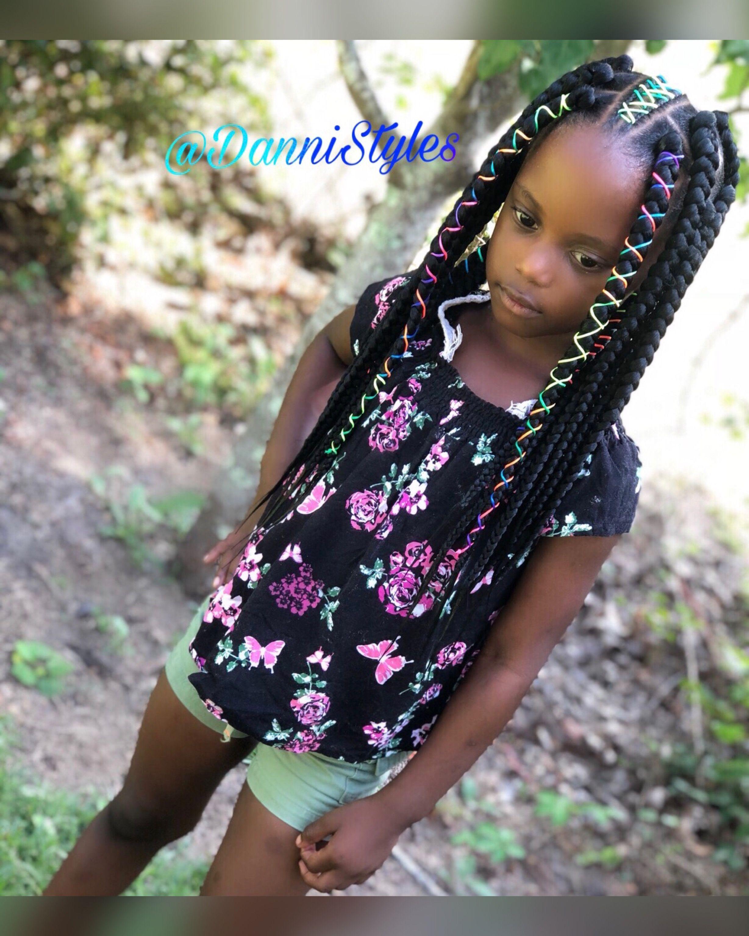 Dannistyles Image By Danni Chelley Kid Braid Styles Kids Box