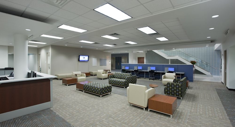 Houston Community College TX Swift Lounge Seating In Collaborative Open Space