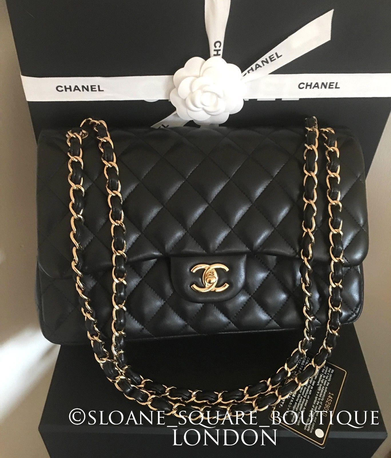 bac95a43874c Chanel Black 11.8