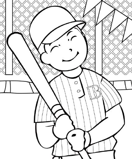 baseball coloring pages baseball coloring getgrizzlie - Baseball Coloring Pages For Kids