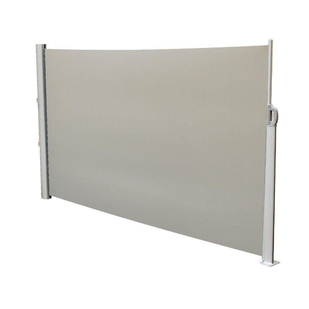 Seitenmarkise Markise 300x160cm Sichtschutz Windschutz
