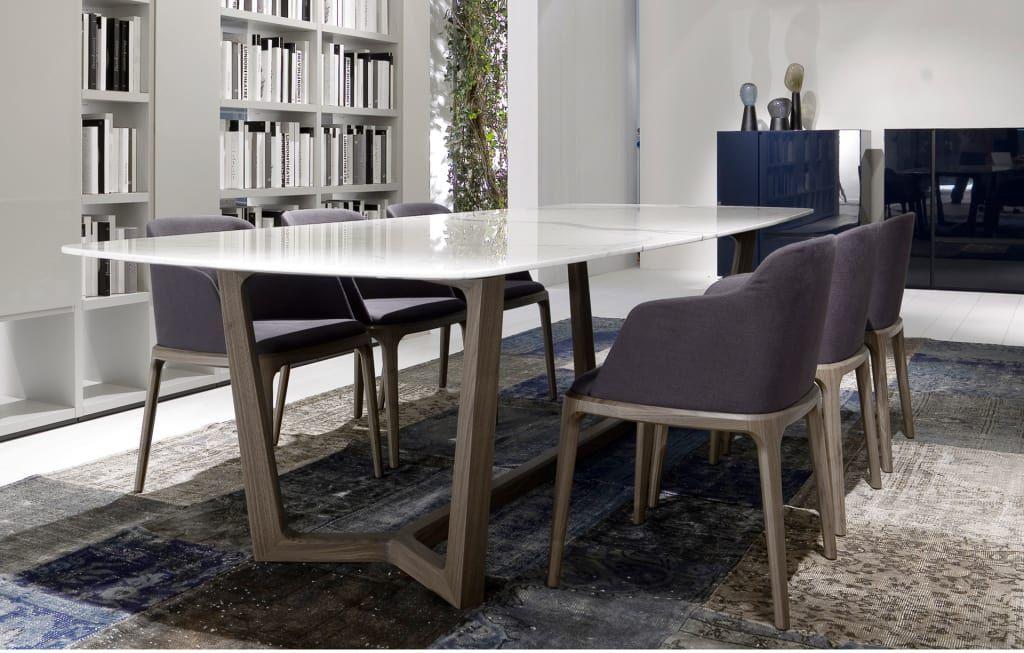 Fotos de comedores de estilo moderno  mesa atlantis con tapa de
