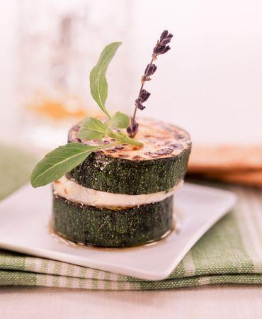 Montadito de calabac n y queso delicooks good food - Ana cocina facil ...