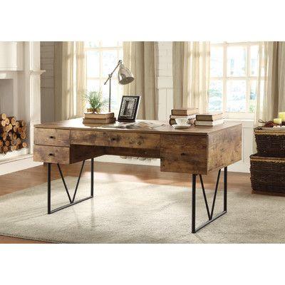 Fallon Reversible Desk Coaster Furniture Home Office
