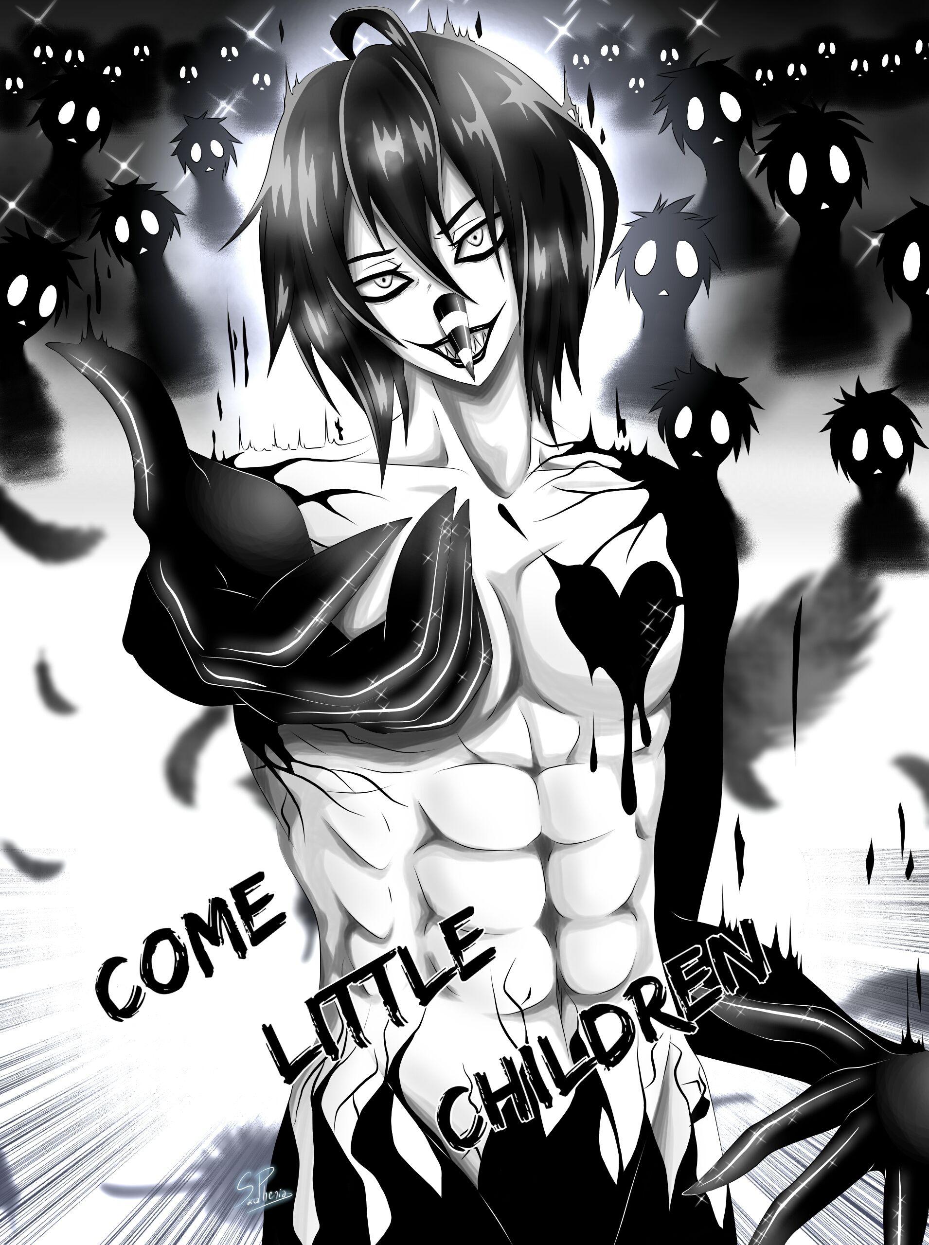 Épinglé par SarcaPhenia sur CREEPYPASTA Dessin manga