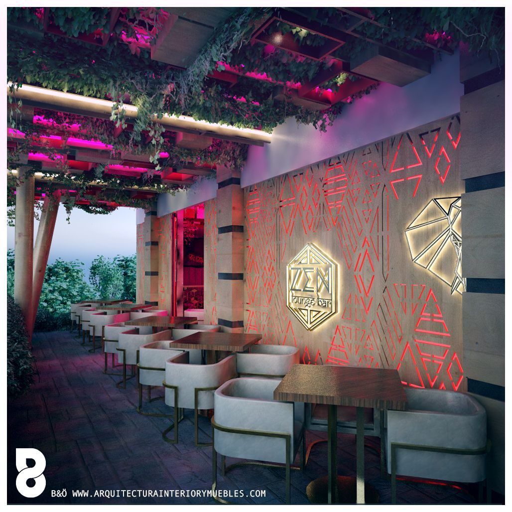 Arquitecturainteriorymuebles decoraciones de bares modernos decorar dise o de restaurantes - Decoracion bares modernos ...