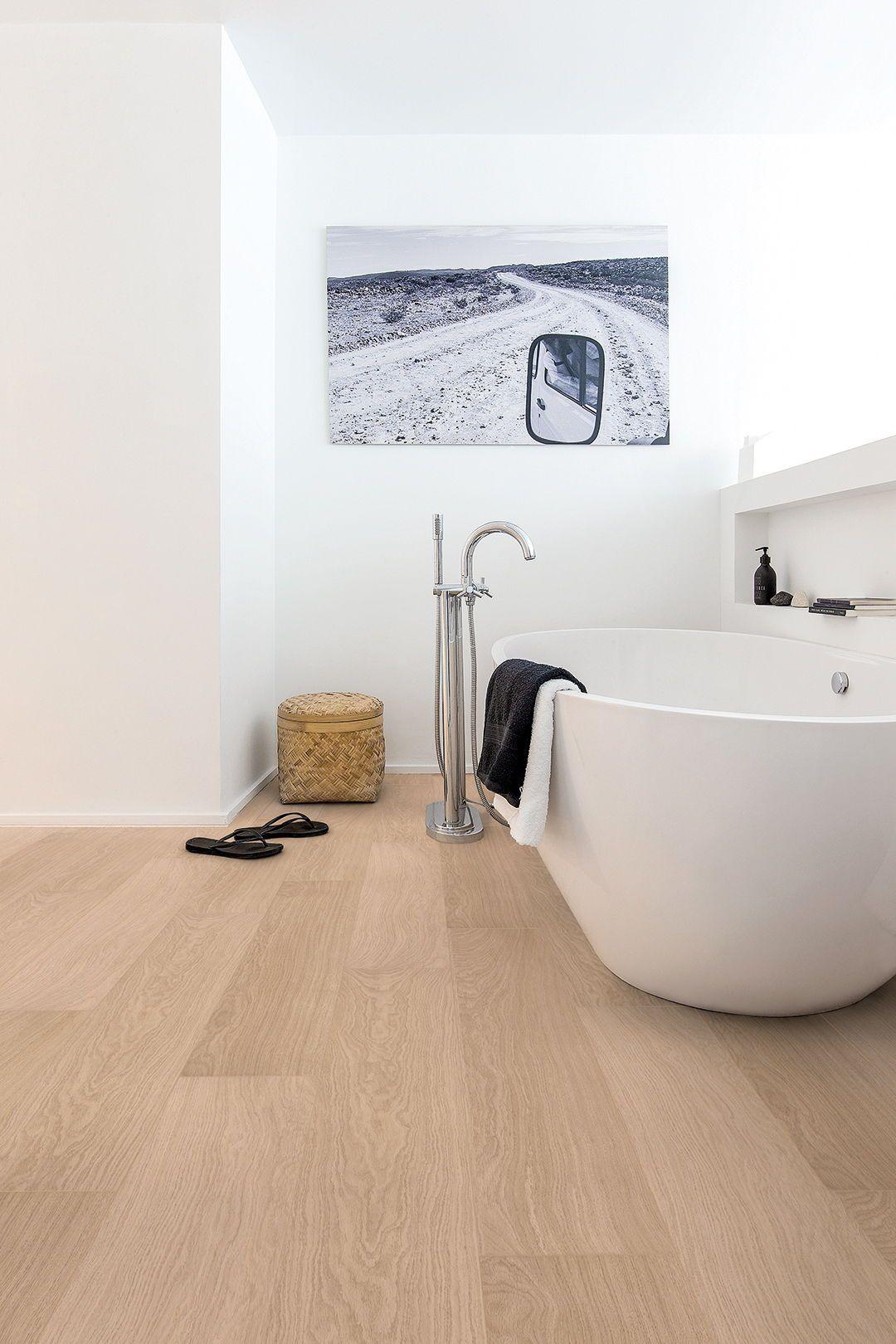 Choose The Perfect Bathroom Floor Quick Step Co Uk Waterproof Bathroom Flooring Waterproof Laminate Flooring Wood Floor Bathroom