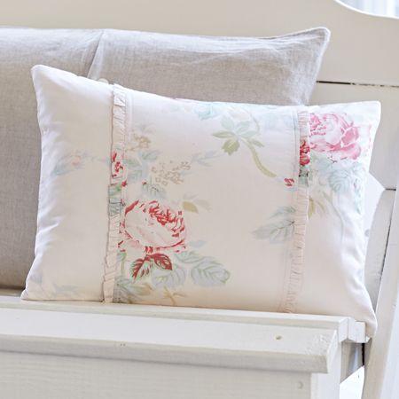 Taylor Linens Pink Shore Rose Boudoir Pillow