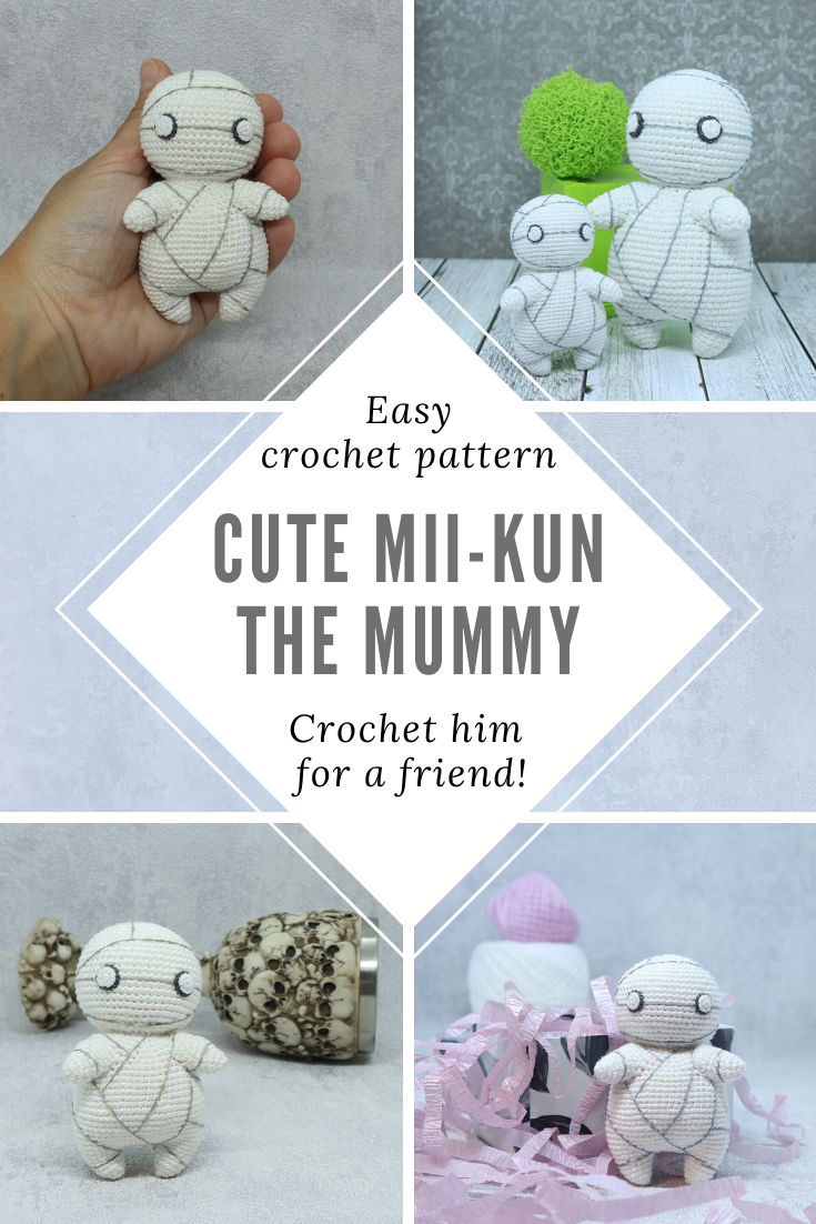 Plush Toy Mii Kun The Mummy Crochet Pattern Anime Character Etsy In 2020 Crochet Patterns Crochet Patterns Amigurumi Halloween Crochet How to keep a mummy wiki. mummy crochet pattern anime character