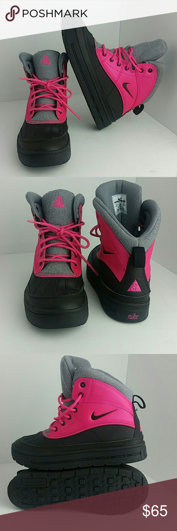 NIKE ACG WOODSIDE WOMEN YOUTH BOOT VERY CLEAN INSIDE-OUT THIS IS A YOUTH bfc1f197a