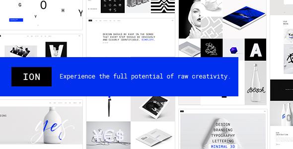 Ion - A Portfolio Theme for Creatives   Pinterest
