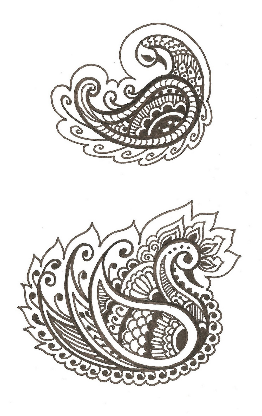 Swans Symbol Of Beauty Spirituality And Discernment Mehndi