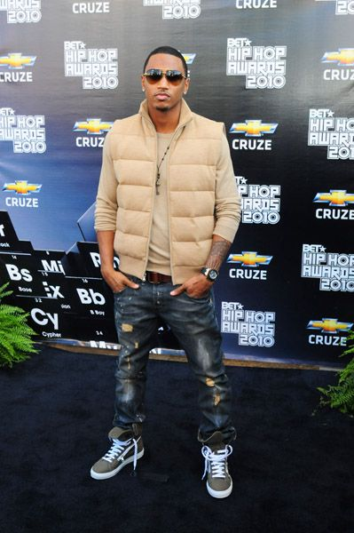 trey songz fashion | Trey Songz at BET Hip Hop Awards ...