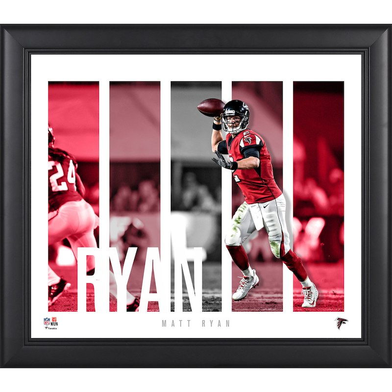 size 40 e76d1 fa135 Matt Ryan Atlanta Falcons Fanatics Authentic Framed 15'' x ...