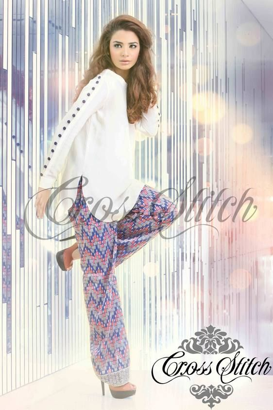 Latest-Swiss-Summer-Lawn-Collection-2014-For-Womens-By-Cross-Stitch
