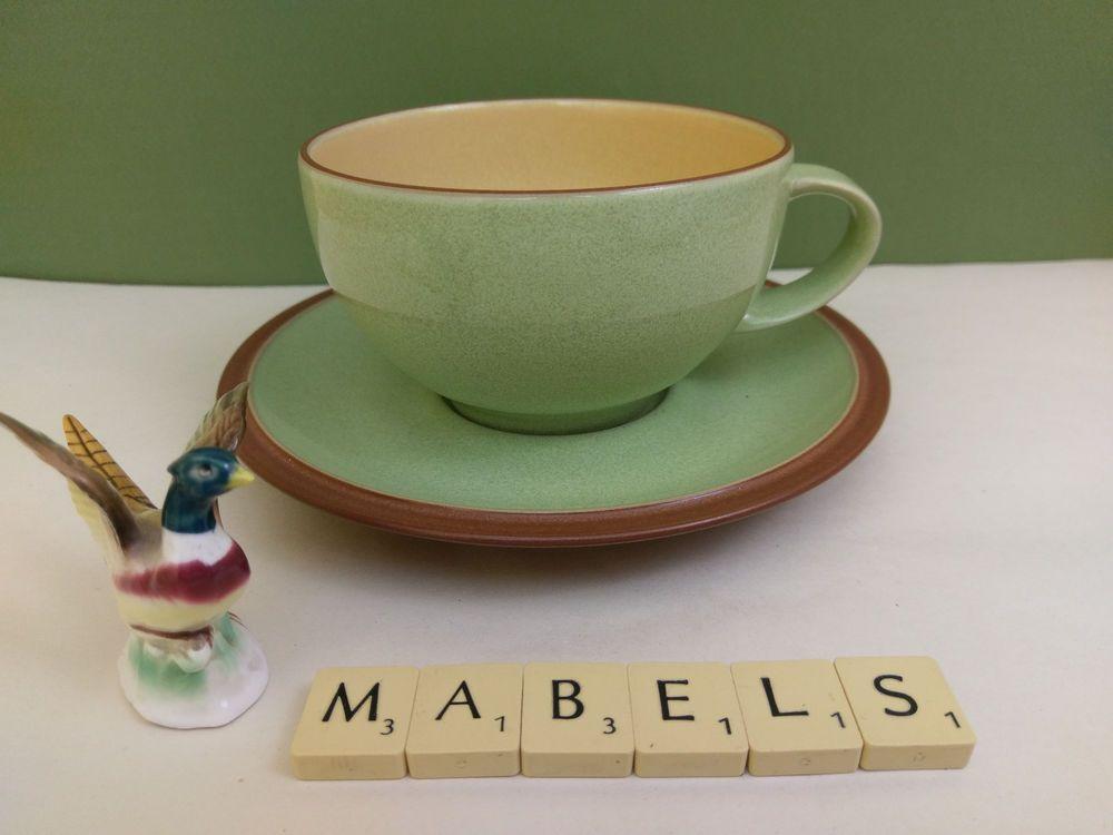 DENBY ~JUICE~ breakfast cup & saucer | Mabel\'s Tableware | Pinterest ...