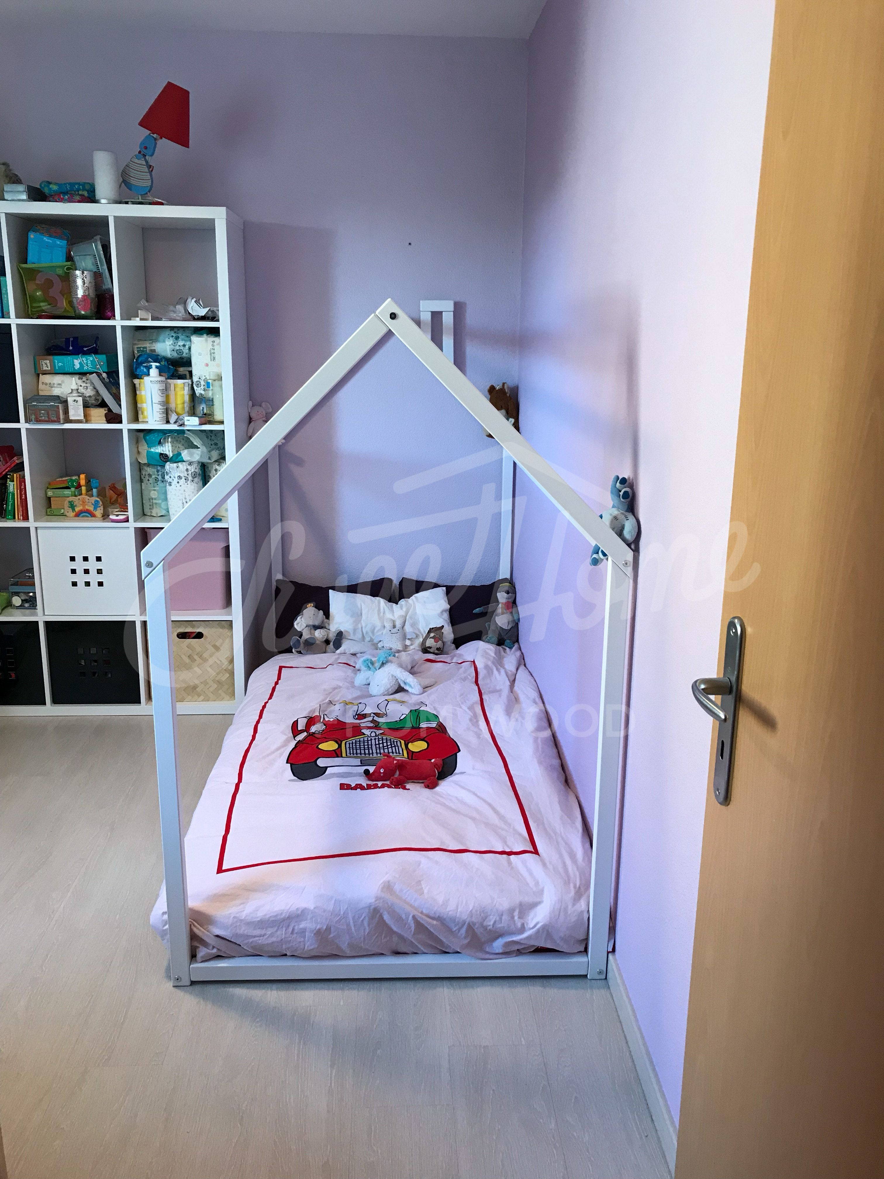 Girls Room Idea With White Bed, Toddler Bed, House Bed, Tent Bed, Children  Bed, Wooden House, Wood House, Wood Nursery, Kids Teepee Bed, Wood Bed Frame,  ...