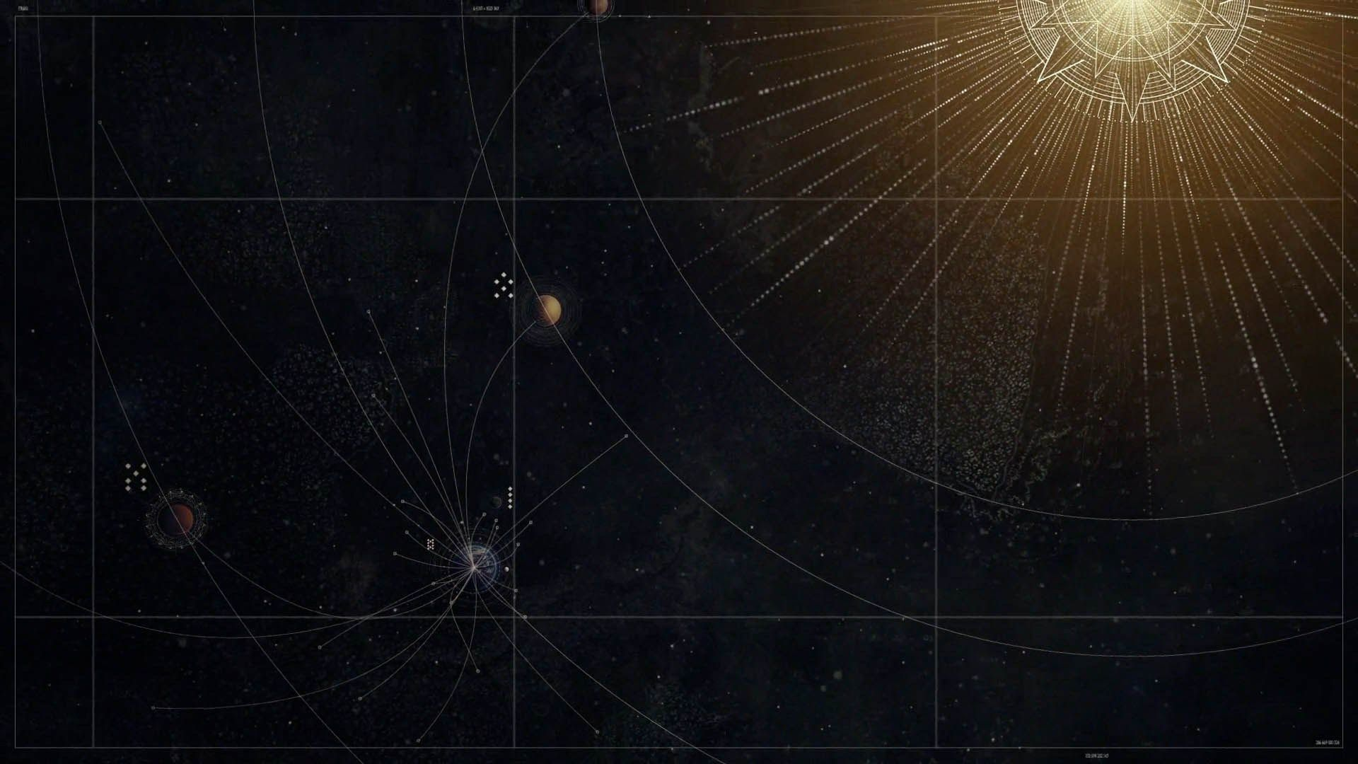 What Are The Circles Lines Surrounding The Planets In