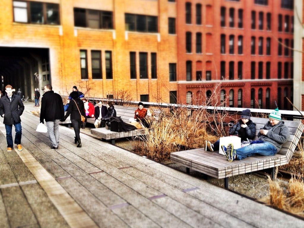 High Line details