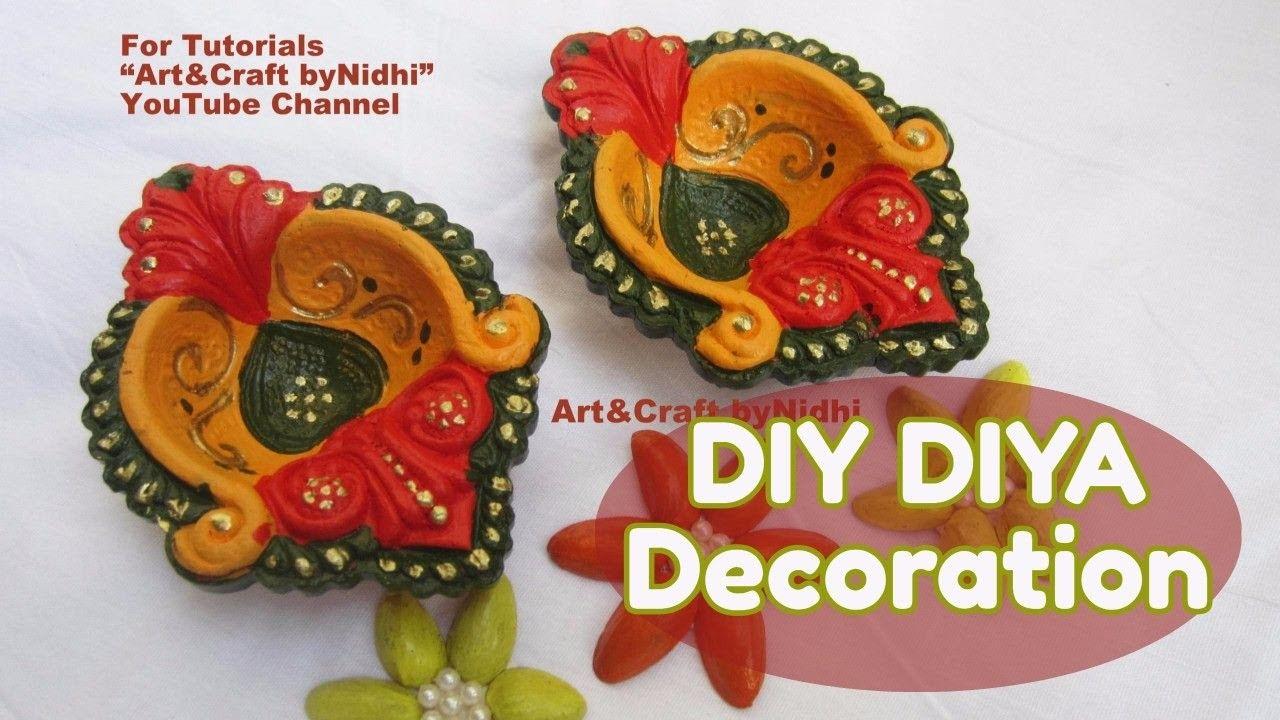 easy diy diwali diya kodiya decoration painting new year home decoration