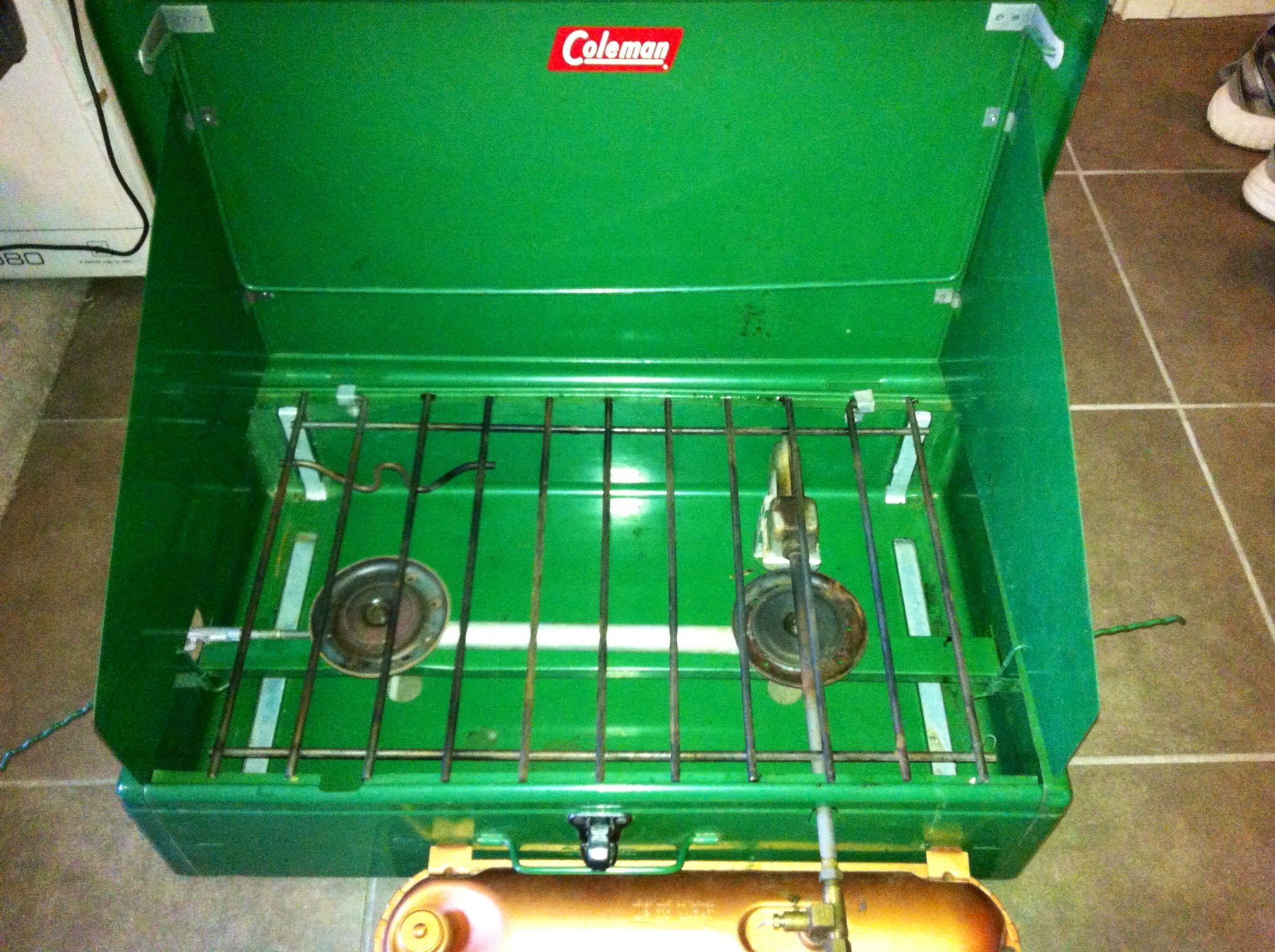 Old school camping! Coleman stove from 1950's still in box! $10 ...