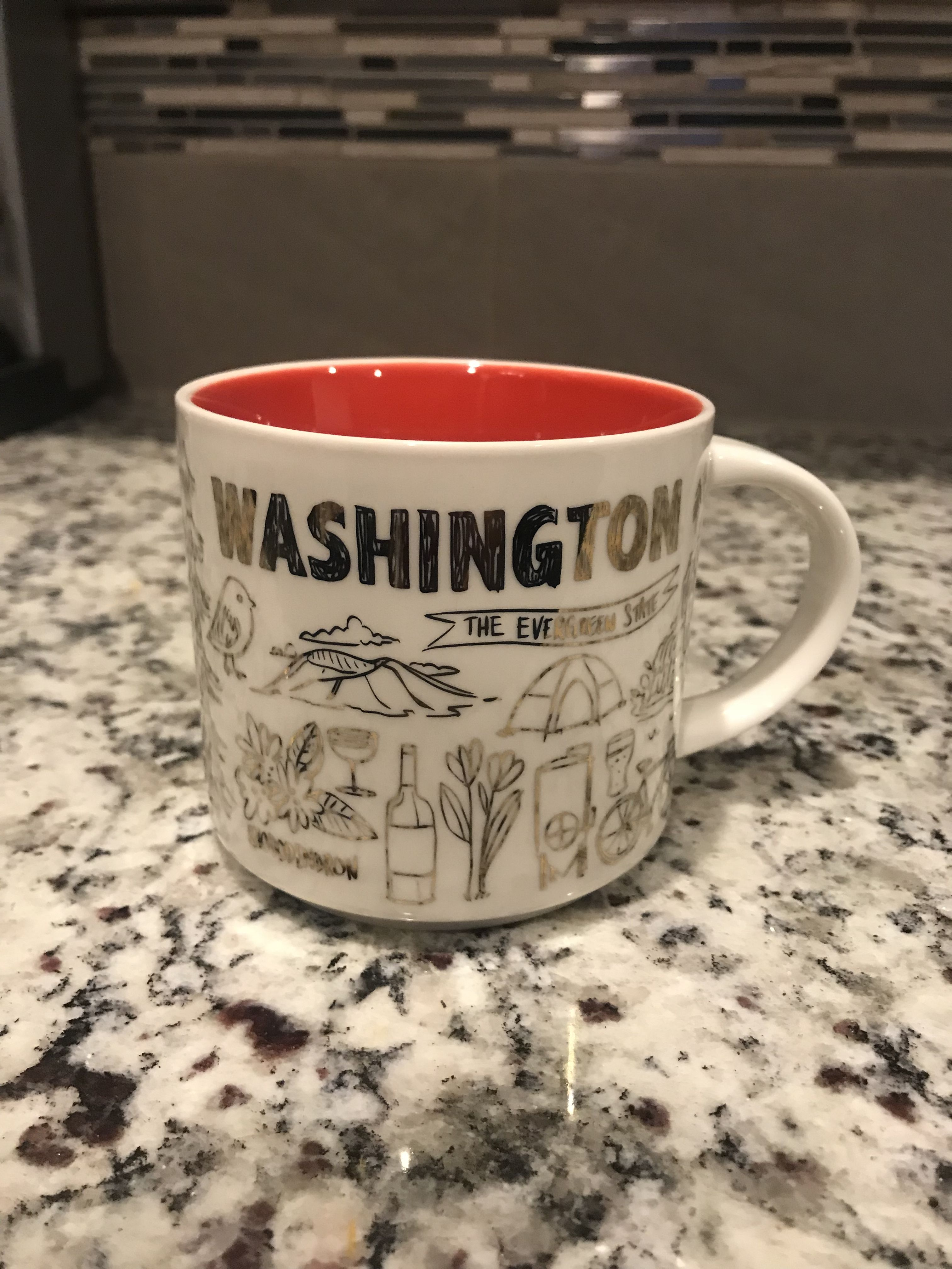 Holiday edition 2018 (front) Starbucks mugs, Starbucks, Mugs