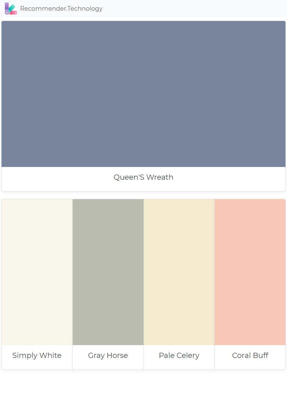 Queen S Wreath Simply White Gray Horse Pale Celery Coral Buff In 2020 Coral Paint Colors House Paint Exterior Exterior Paint
