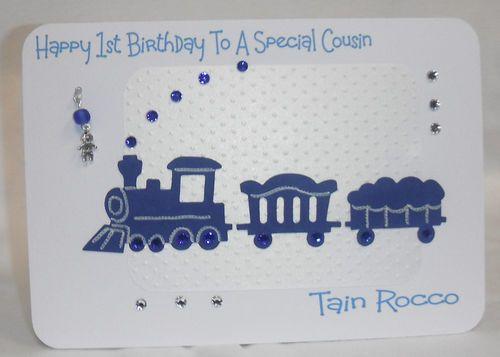 Handmade personalised songrandsonnephew 1st2nd3rd birthday card handmade personalised songrandsonnephew 1st2nd3rd birthday card bookmarktalkfo Images