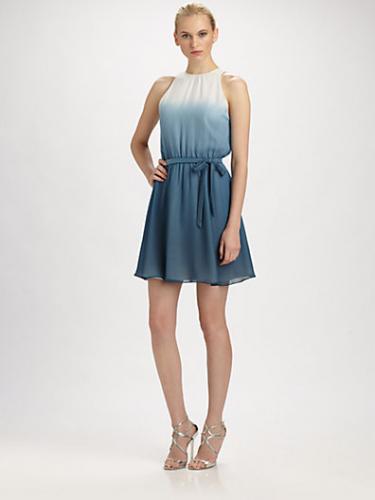 Silk Ombré Dress
