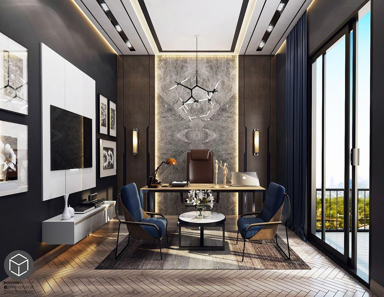 Home Office Decor Inspiration Is Very Important For Your Home Whether You Choose The Modern Office Design Home Or Ic Tasarim Ofisler Urun Tasarimi Cerceve Ev